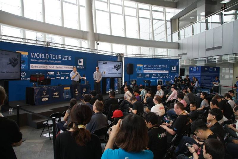 Now ReadingHWBOT World Tour 2016 Kicks Off at COMPUTEX 2016The HWBOT World Tour is a series of overclocking events held around the globe that aims to provide a relaxed social environment for ...